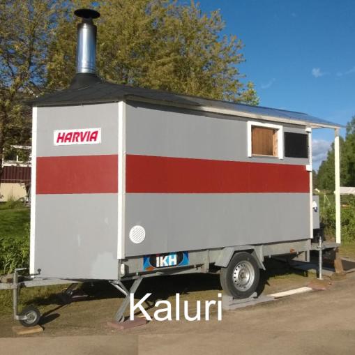 """""""Atro Kallio, Juhani Luotola, Martti Luotola, Vesa Rimmi."""" Kaluri, Lannevesi (Saarijärvi)"""