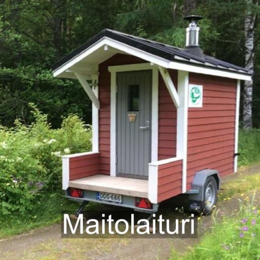 """""""Muistuttaa Itä-Suomalaista maitolaituria."""" Maitolaituri, Nurmes."""