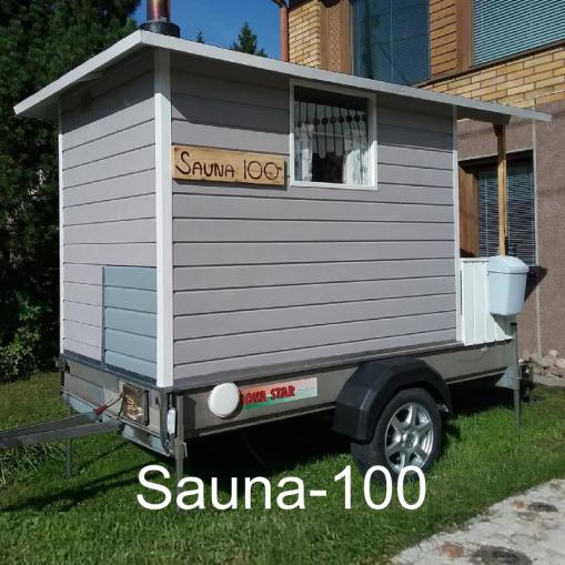 """""""Loppujen lopuksi saunan pieneen tilaan on hifistelty ihan kaikki."""" Sauna-100, Raahe."""