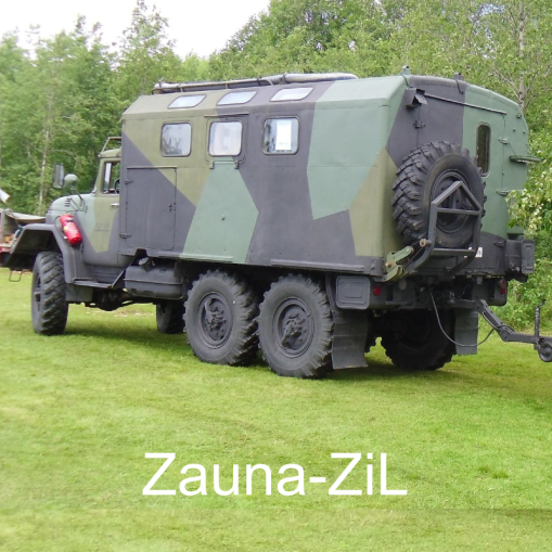 """May the Sauna Force be with You – Zauna-ZiL – Olkoot Saunavoimat kanssasi."" Zauna-ZiL, Teuva."