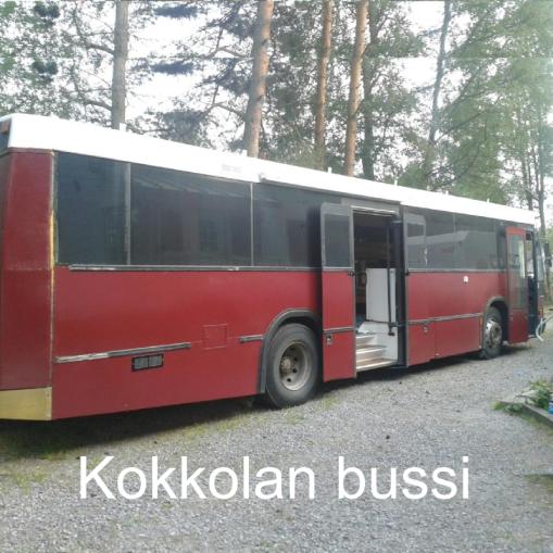 """""""5-hengen puusauna ja asuinosa"""" Kokkolan bussi, Kokkola"""
