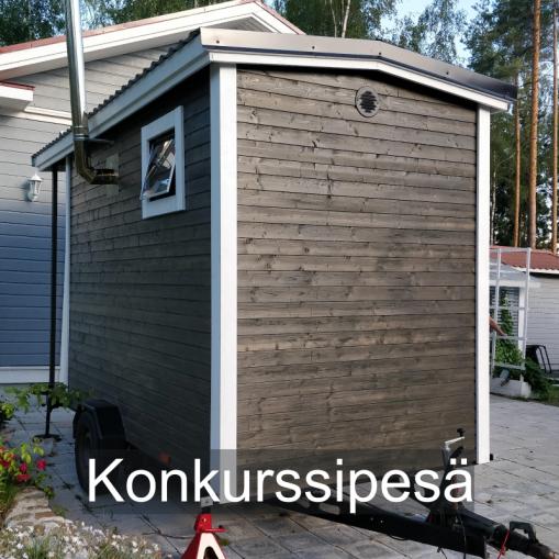 """""""Vain liikaa on tarpeeksi."""" Konkurssipesä, Seinäjoki."""
