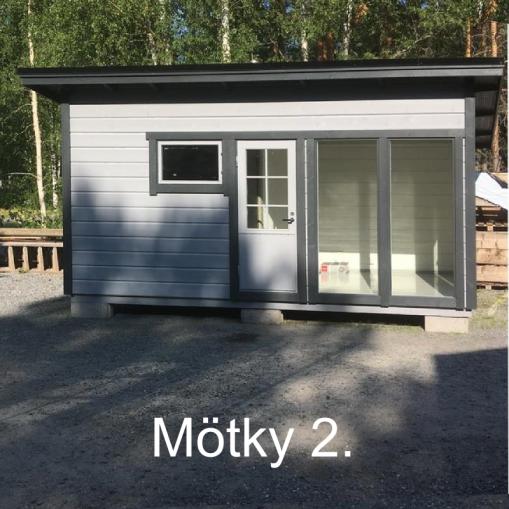 """""""Mobiili saunamökki"""" Mötky 2, Äystö (Teuva)"""